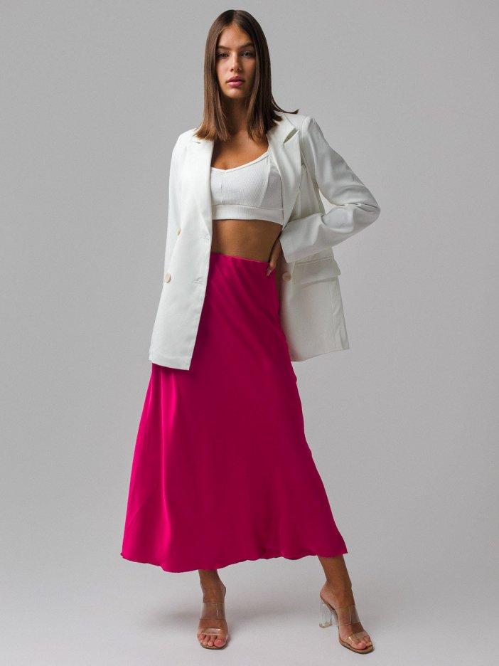 Ružová sukňa Daris