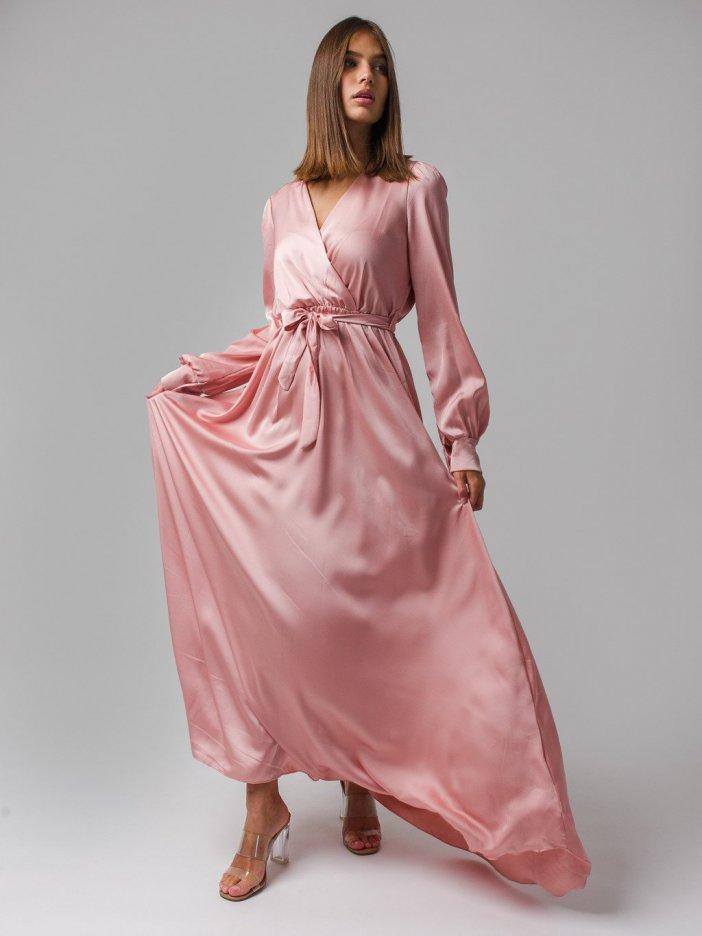 Ružové šaty Alessa