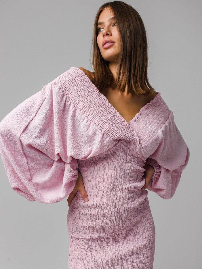 Ružové šaty Ninna