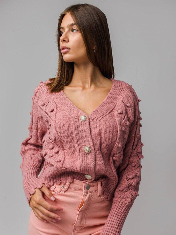 Ružový sveter Benitta