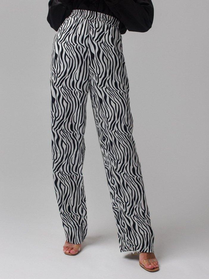 Zebrované nohavice Lemia