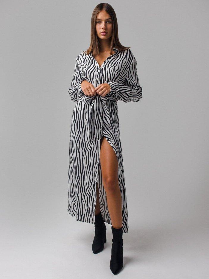 Zebrované šaty Lovina