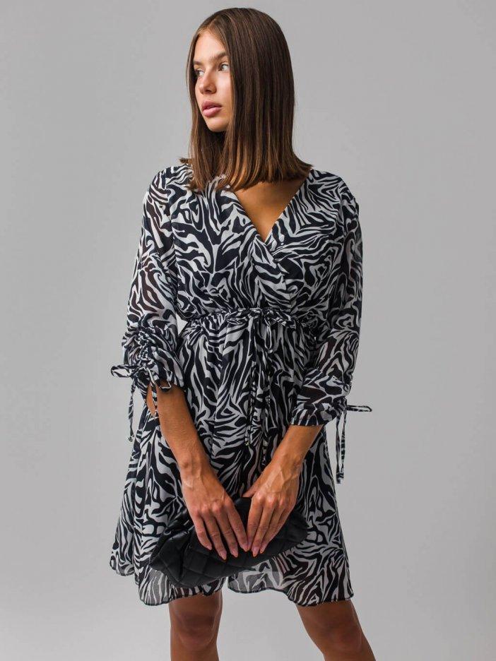 Zebrované šaty Runa