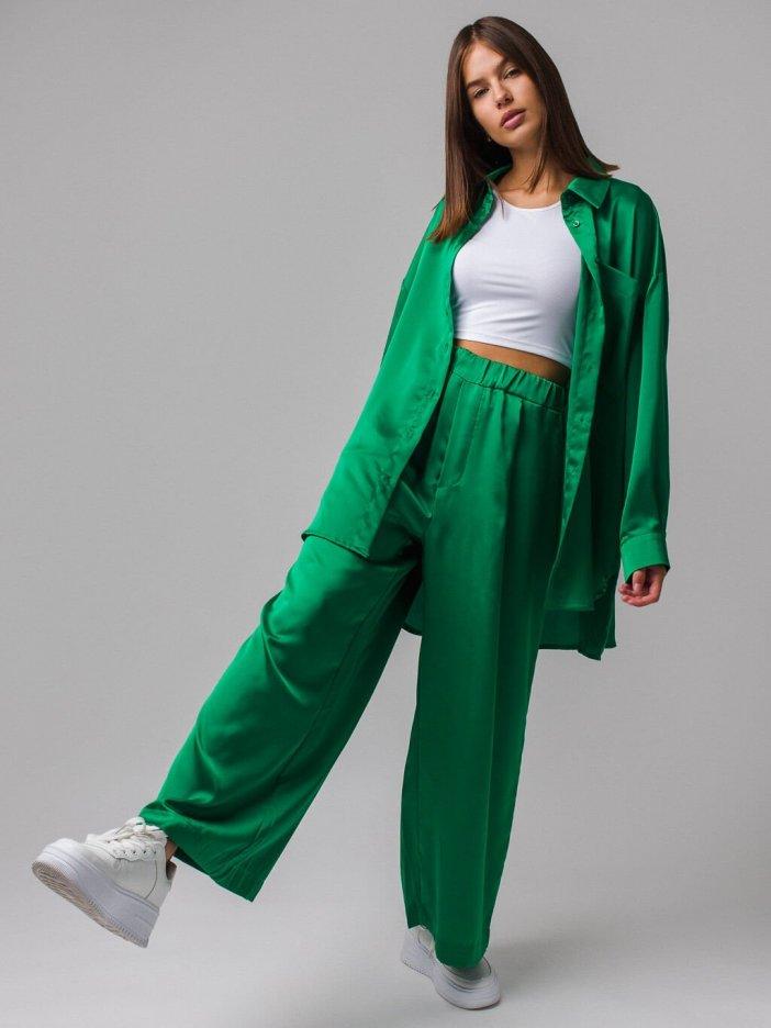 Zelené nohavice Darren