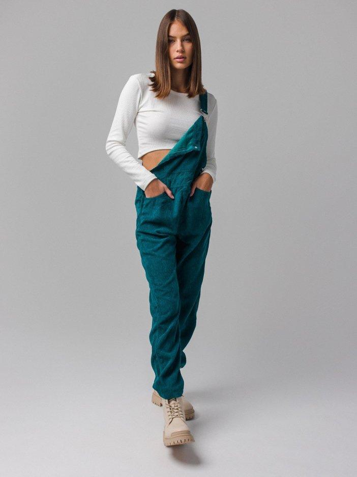 Zelené nohavice na traky Tea