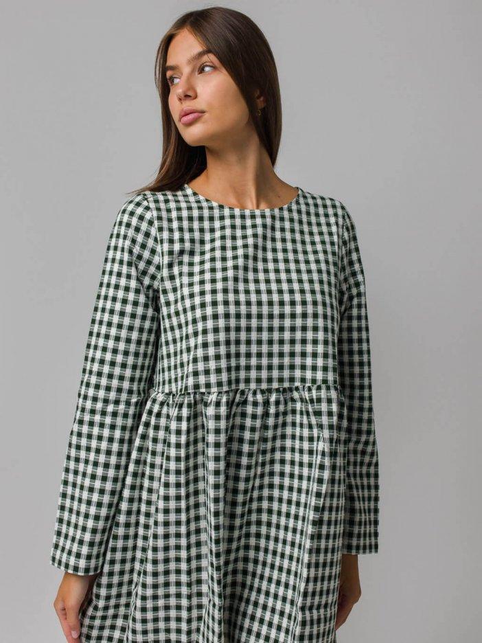 Zelené šaty Elanie