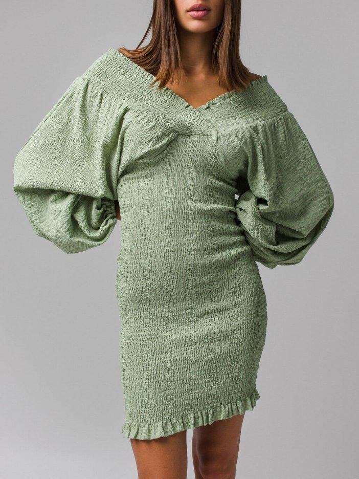 Zelené šaty Ninna