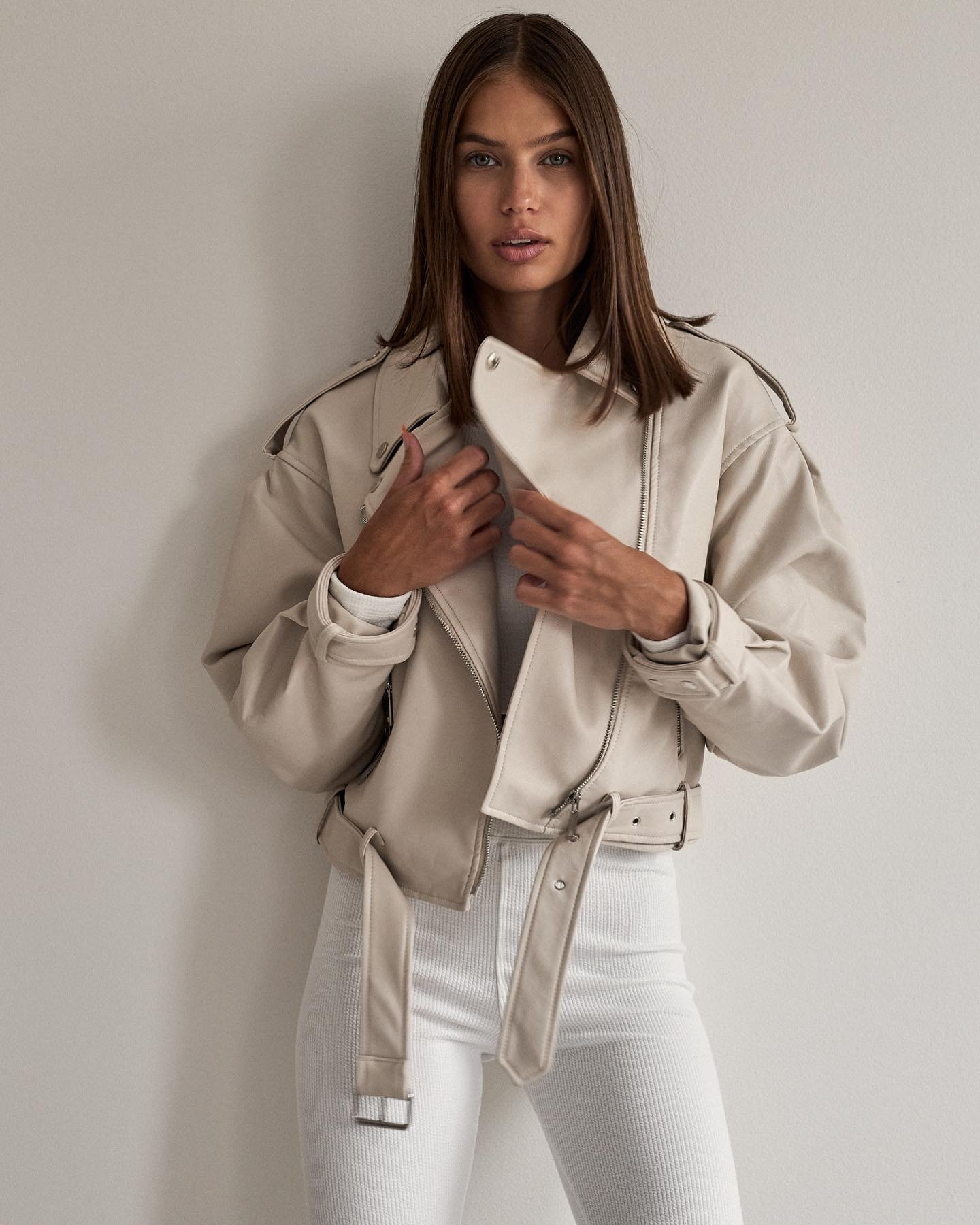 Dokonalosť ❤️ tak presne taká je táto kožena bunda, ktorú nájdeš v našich novinkách 😍