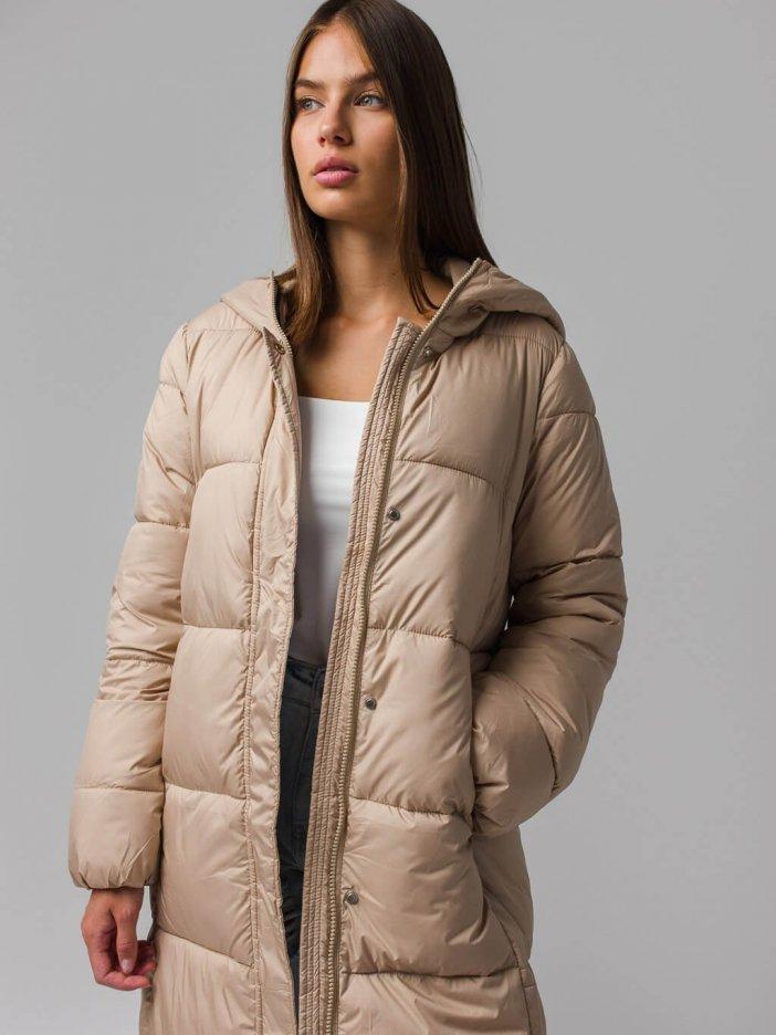 Béžová bunda Hanita