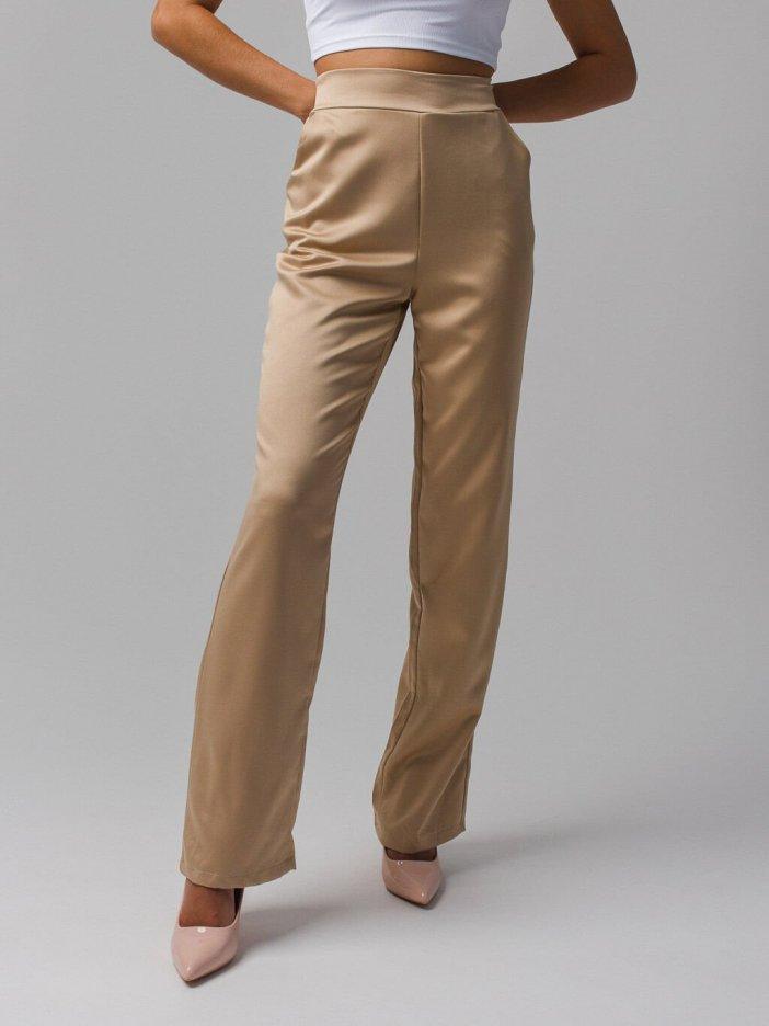 Béžové nohavice Grenna