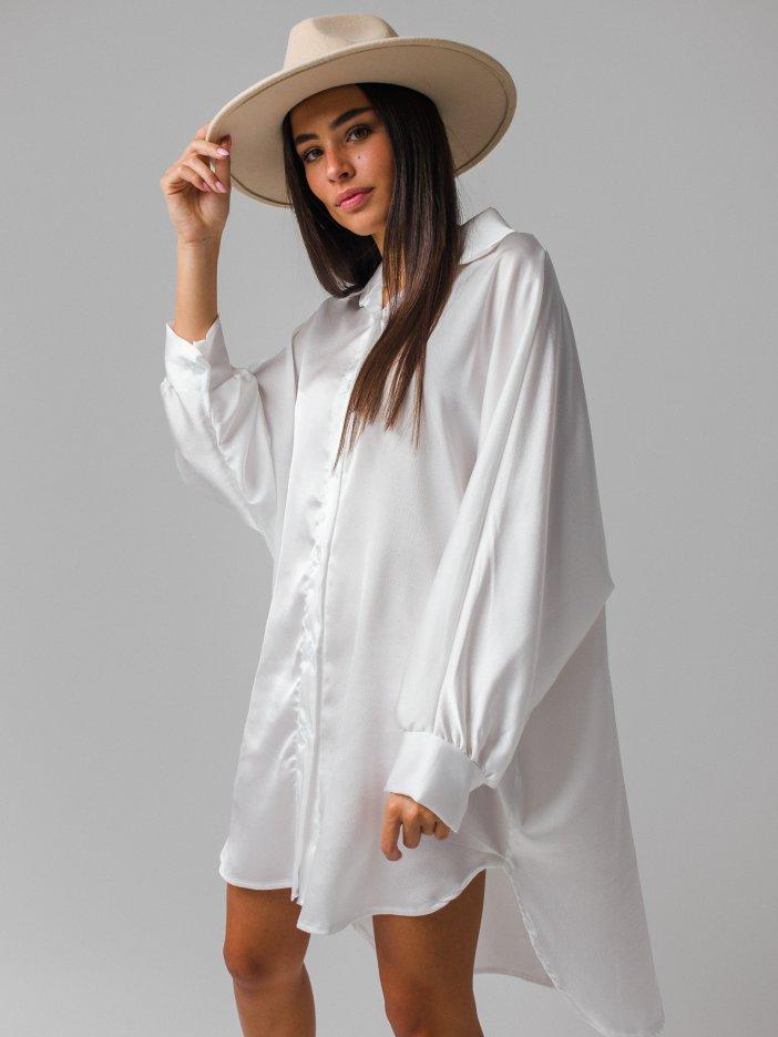 Biele šaty Kella