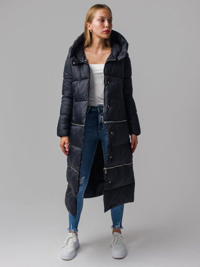 Čierna bunda Leurel