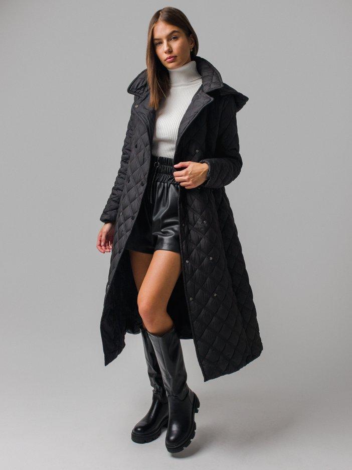 Čierna bunda Rinna