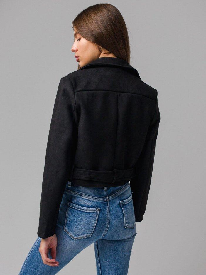 Čierna bunda Stella