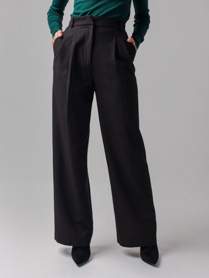 Čierne nohavice Valentina