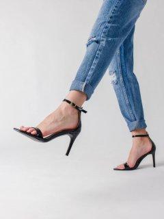 Dámske sandále na podpätku