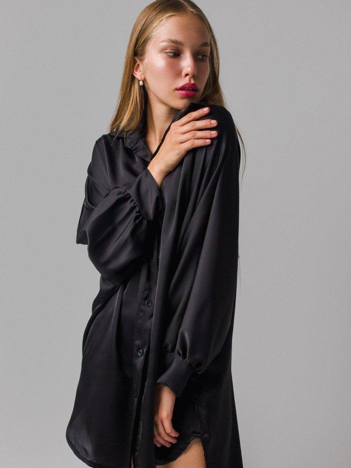 Čierne šaty Kella