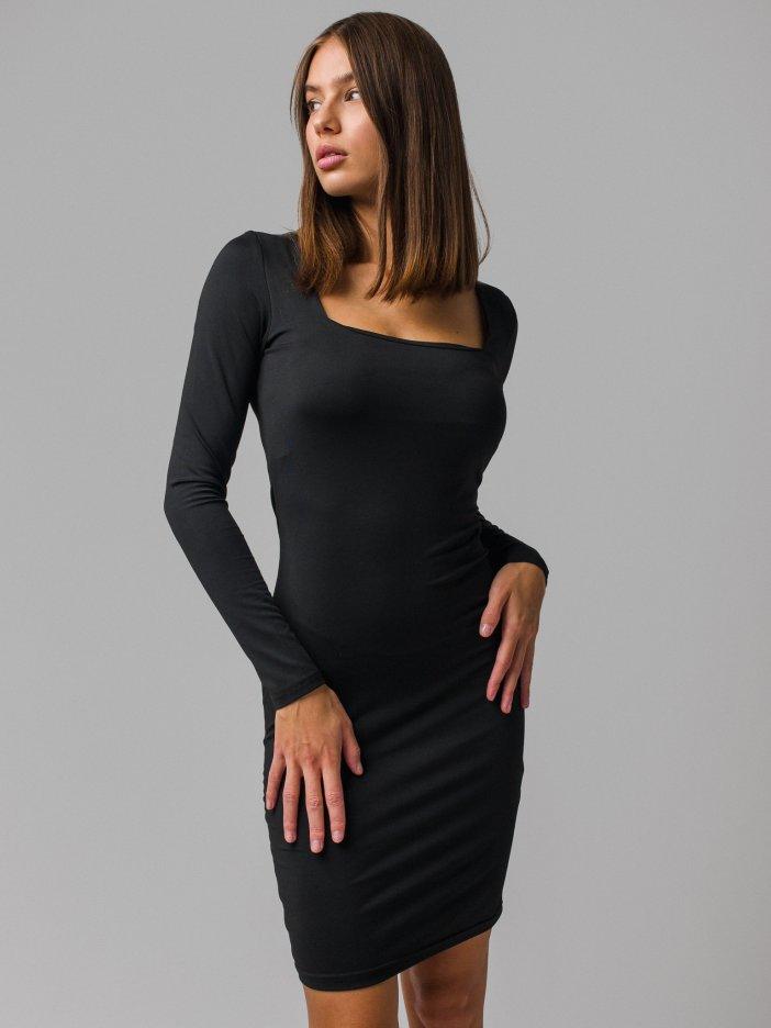 Čierne šaty Mikki