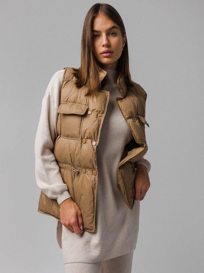 Hnedá vesta Kristina