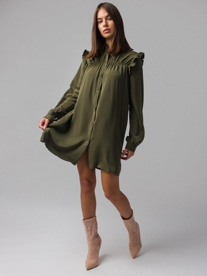Zelené šaty Ellisa