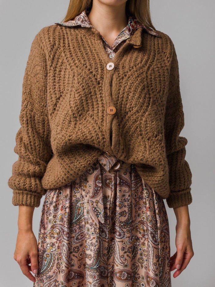 Hnedý sveter Emily