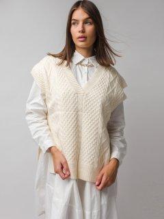 Dámske pletené vesty