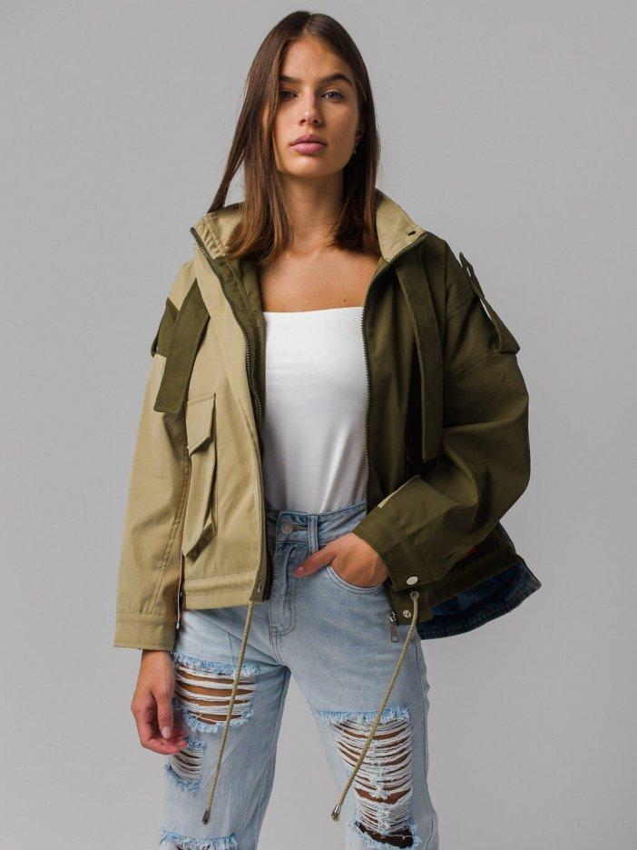 Viacfarebná bunda Zara