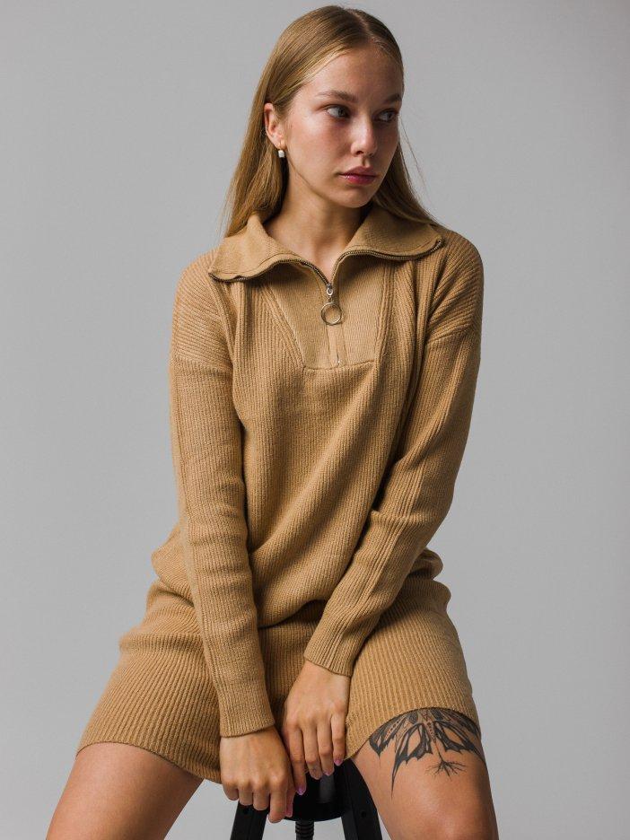 Hnedé šaty Garcia