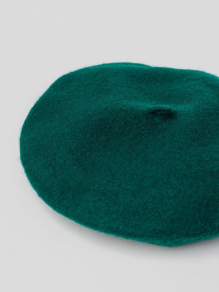 Tmavozelená baretka Betsy