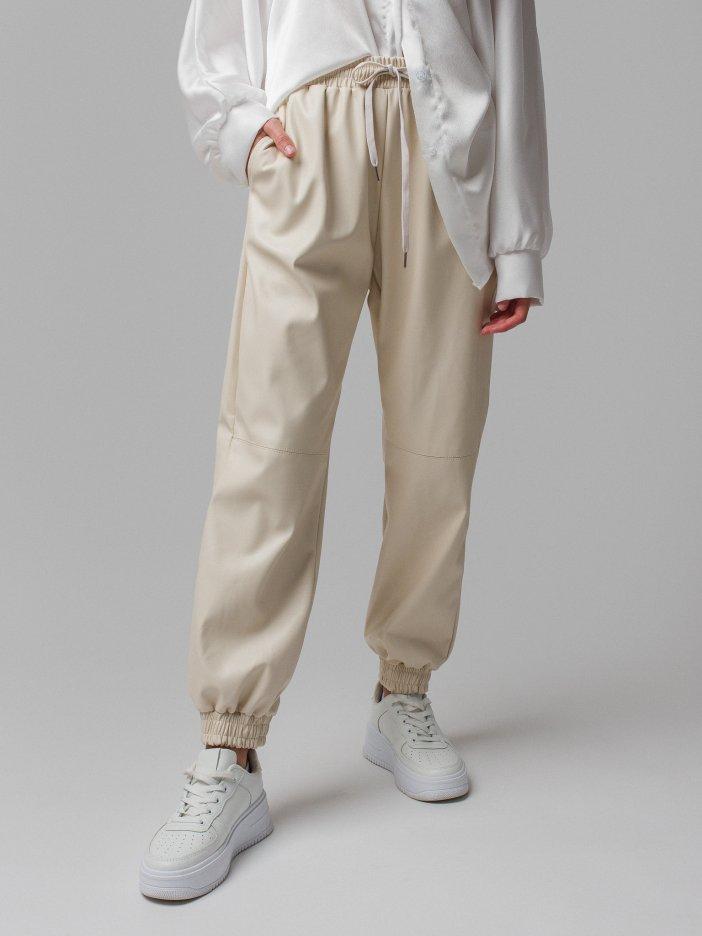 Béžové nohavice Amina