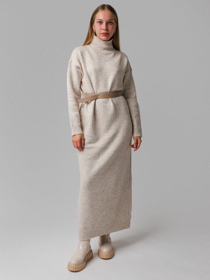 Hnedo-sivé šaty Monica