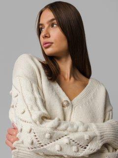 Béžový sveter Demmi