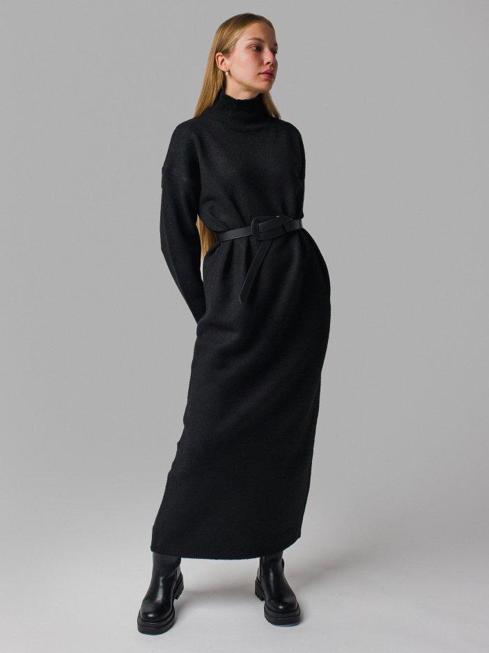 Čierne šaty Monica