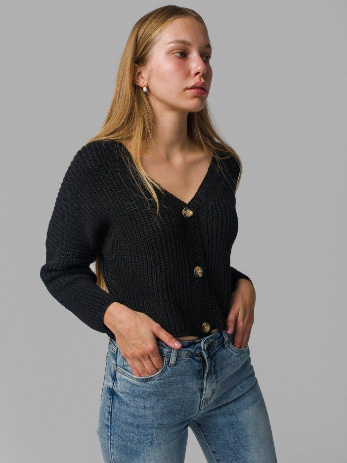 Čierny sveter Laria