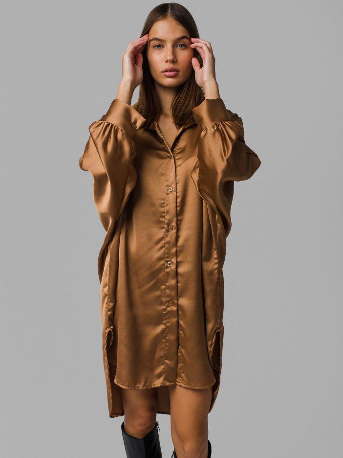 Hnedé šaty Kella