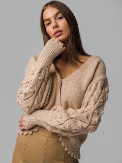 Hnedý sveter Demmi