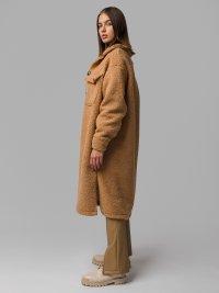 Hnedý teddy kabát Fletcher